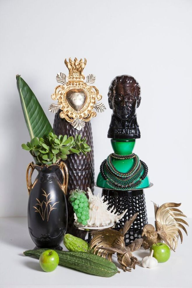 Bettina McILwraith + SOLLIS STYLE TRIBE TOTEMS. Green - The Revolutionary.